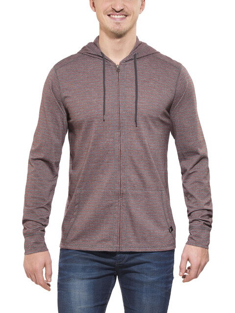 Prana Keller Full Zip Hoody Men raisin